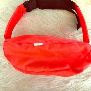 Vintage (80s Vibe) Neon Orange Bum Bag